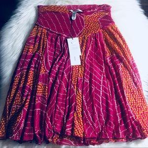 NWT DVF Summer Azalea Skirt